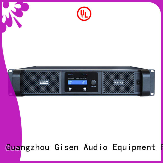 2100wx2 hifi class d amplifier supplier for performance