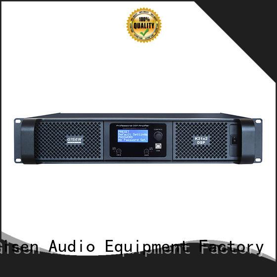 Gisen power audio amplifier pro supplier