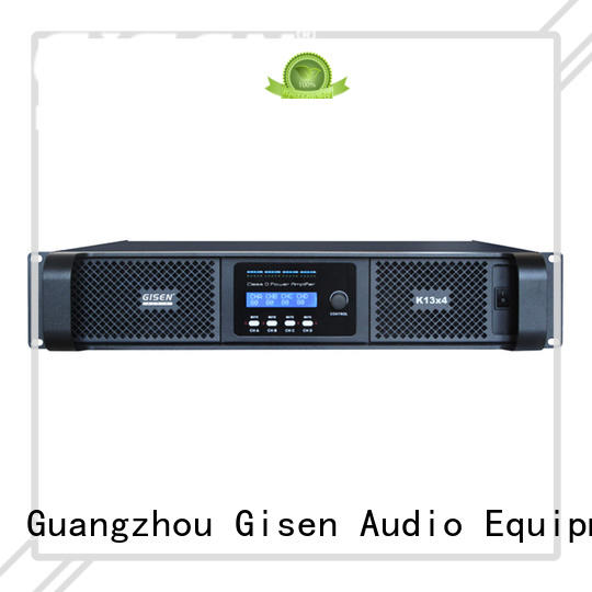 Gisen professional class d digital amplifier fast delivery for ktv