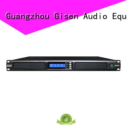 Gisen new model power amplifier 1u manufacturer for venue