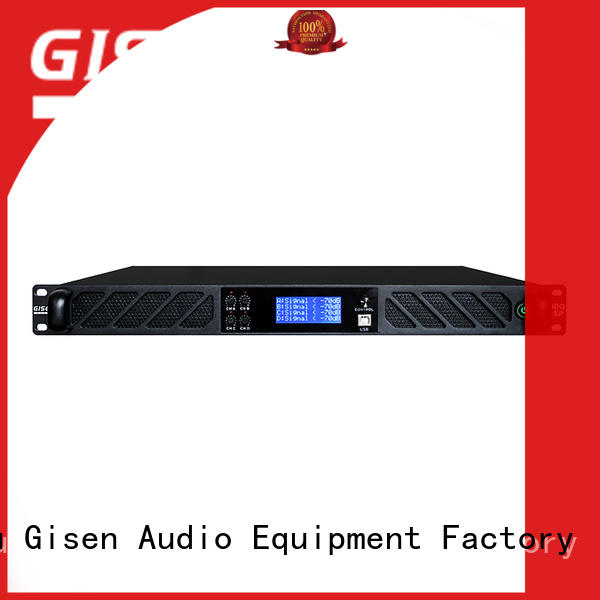 Gisen 4 channel best power amplifier in the world supplier for various occations