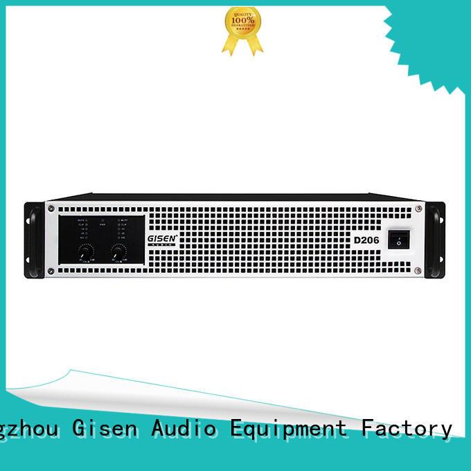 Gisen guangzhou best class d amplifier more buying choices for ktv