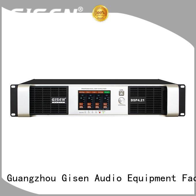 4 channel amplifier sound system supplier for venue Gisen