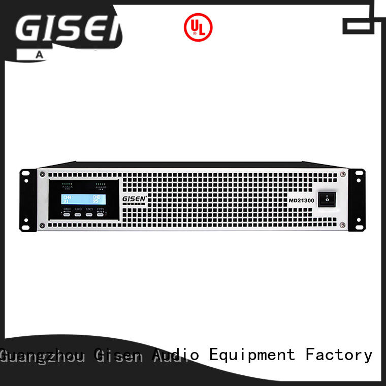 Gisen hot selling high end amplifiers crazy price for ktv