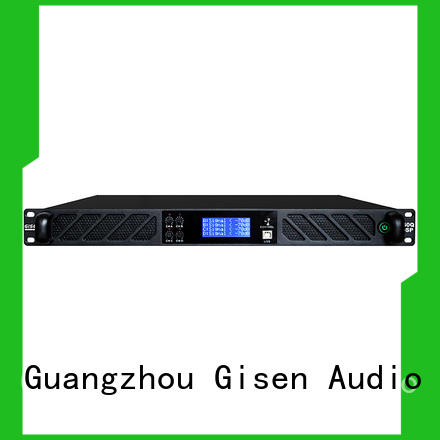 Gisen high quality amplifier sound system wholesale for performance