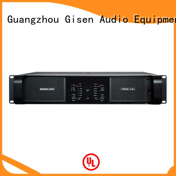 Gisen unbeatable price sound power amplifier power for vocal concert