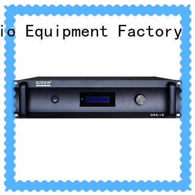 Gisen oem odm 4 channel amplifier home fair trade for ktv