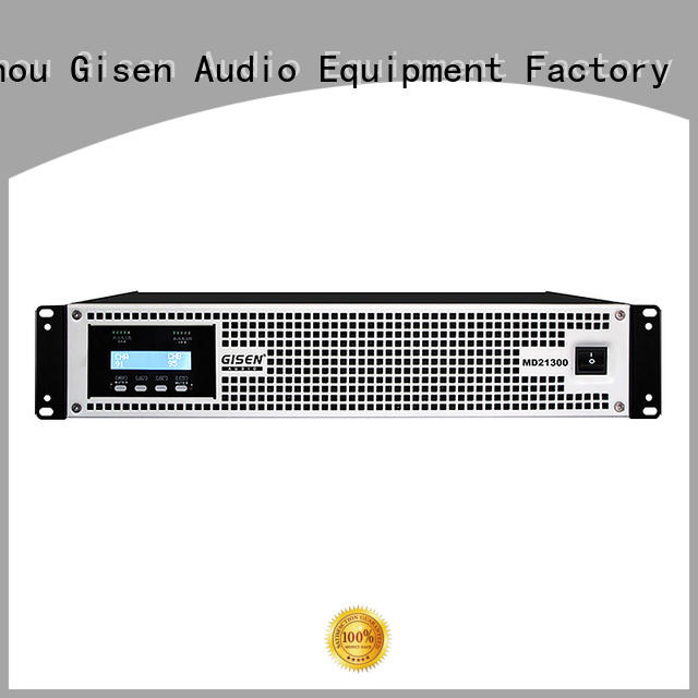 Gisen traditional best audio amplifier crazy price for ktv