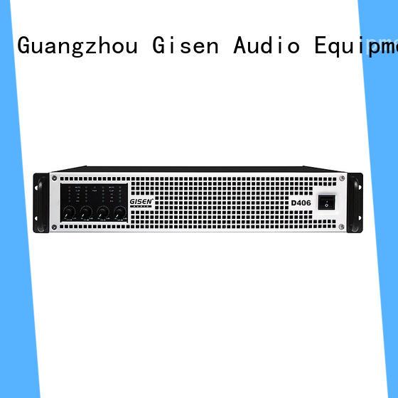 high efficiency digital audio amplifier 2100wx4 supplier for entertaining club