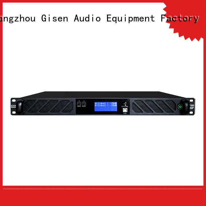 Gisen multiple functions dsp amplifier manufacturer for various occations
