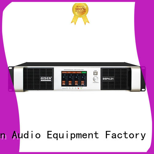 Gisen 2100wx2 pro dj amplifier factory for various occations