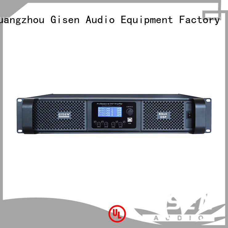 Gisen professional amplifier power factory for performance