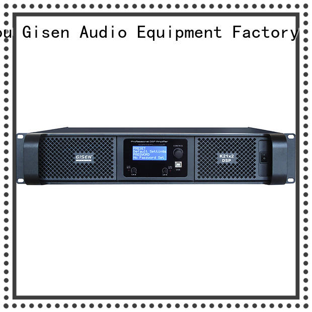 high quality audio amplifier pro dsp manufacturer for performance