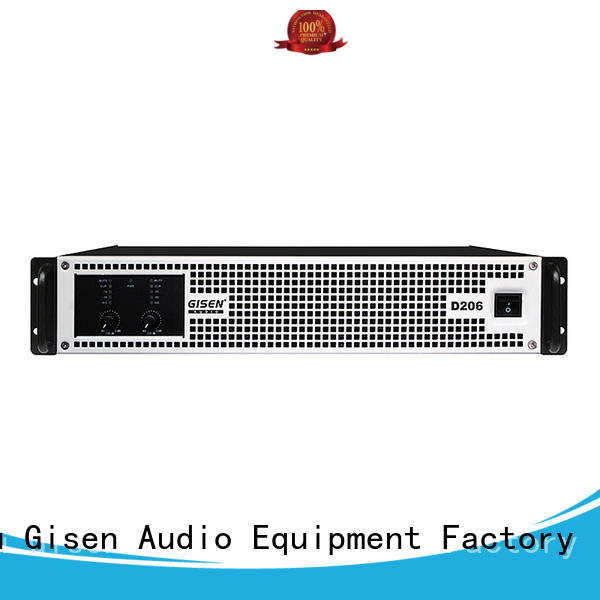 Gisen high efficiency class d digital amplifier wholesale for ktv