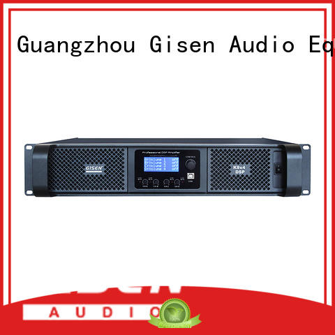 Gisen multiple functions audio amplifier pro manufacturer for stage