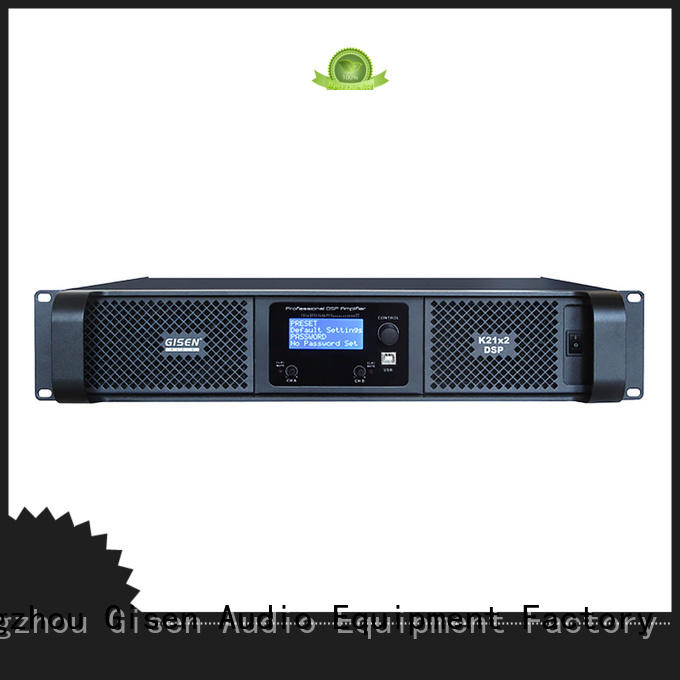 Gisen multiple functions best power amplifier in the world supplier for performance