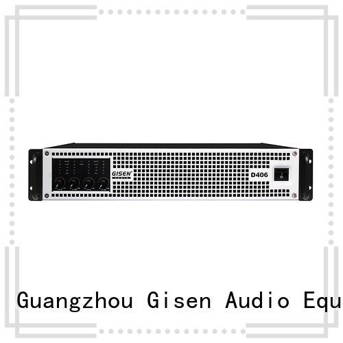 Gisen full range class d power amplifier manufacturer for meeting