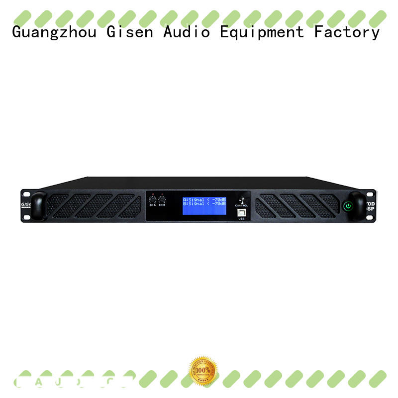 multiple functions amplifier power digital factory for stage