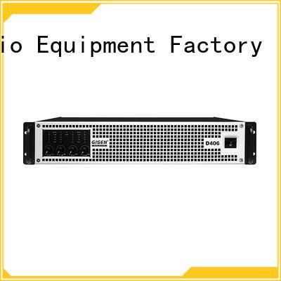 Gisen high efficiency best class d amplifier fast shipping for entertaining club