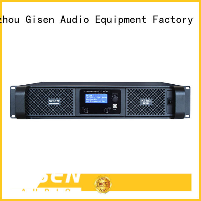 Gisen high quality dj audio amplifier amplifier for various occations