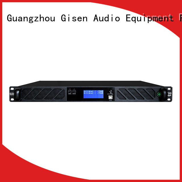 Gisen multiple functions dsp power amplifier wholesale for stage