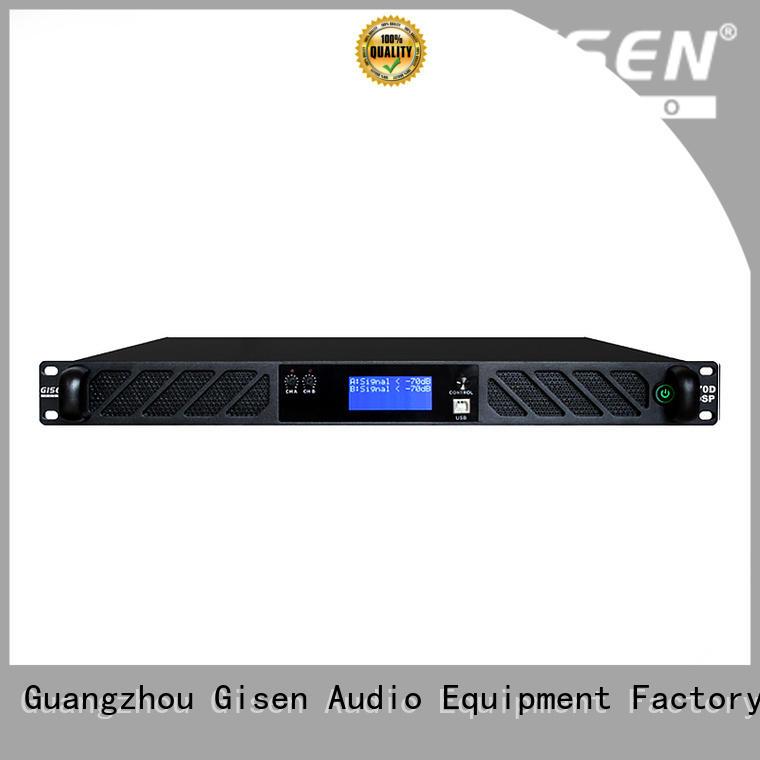 Gisen 8ohm amplifier sound system wholesale for venue