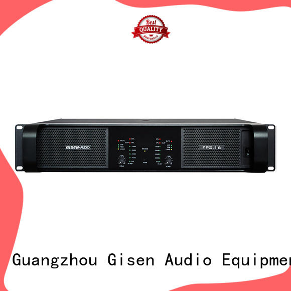Gisen unbeatable price amplifier class td 4x1300w for night club