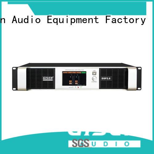Gisen power homemade audio amplifier manufacturer for performance