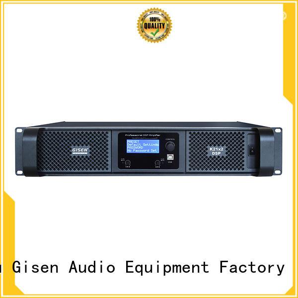 Gisen multiple functions slimline amplifier power