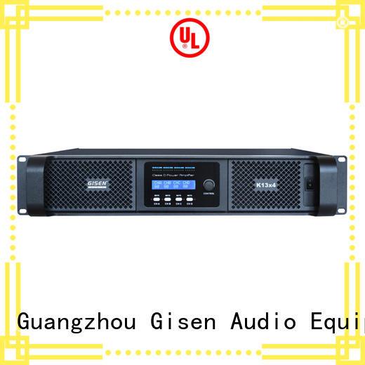 Gisen advanced home stereo power amplifier supplier for ktv