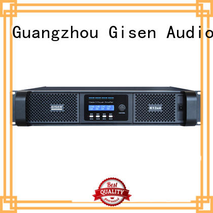 Gisen high efficiency dj amplifier fast delivery for performance