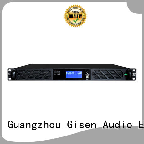 professional dj audio amplifier manufacturer Gisen