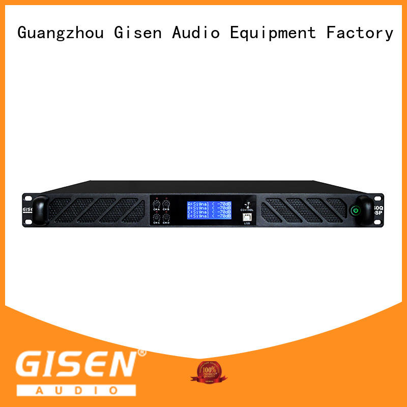 Gisen touch screen studio amplifier manufacturer for performance