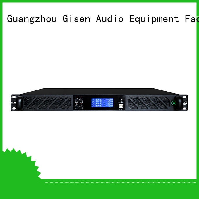 professional dsp amplifier touch screen manufacturer for stage