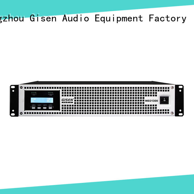 Gisen traditional pa system amplifier overseas market for entertaining club
