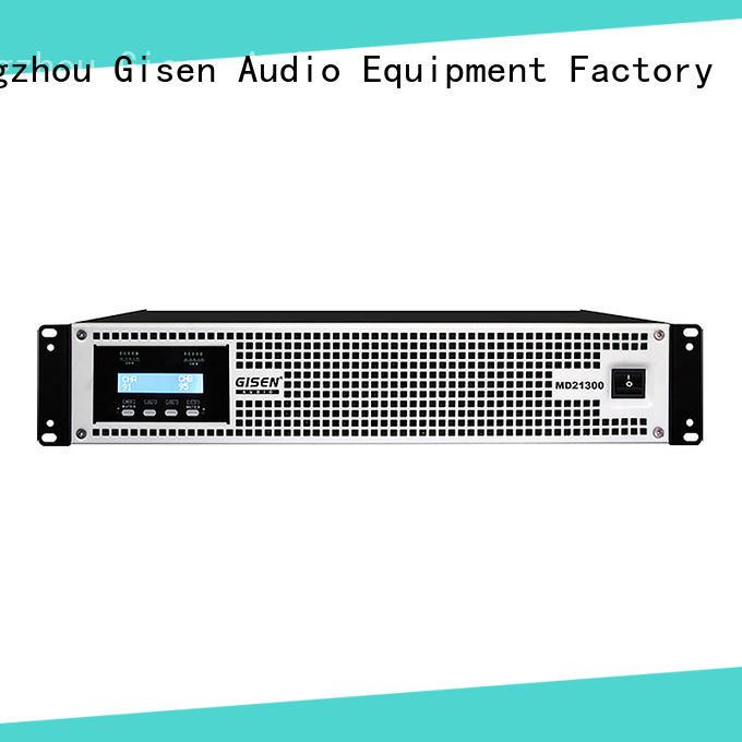 Gisen amplifier high end amplifiers overseas market for meeting