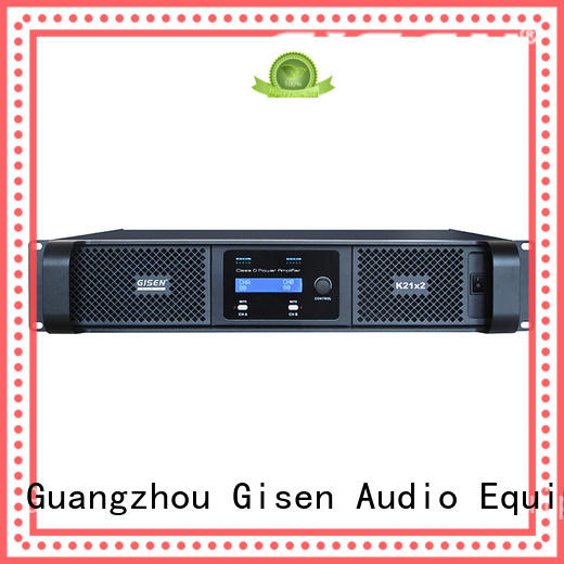 Gisen high efficiency dj amplifier fast delivery for ktv