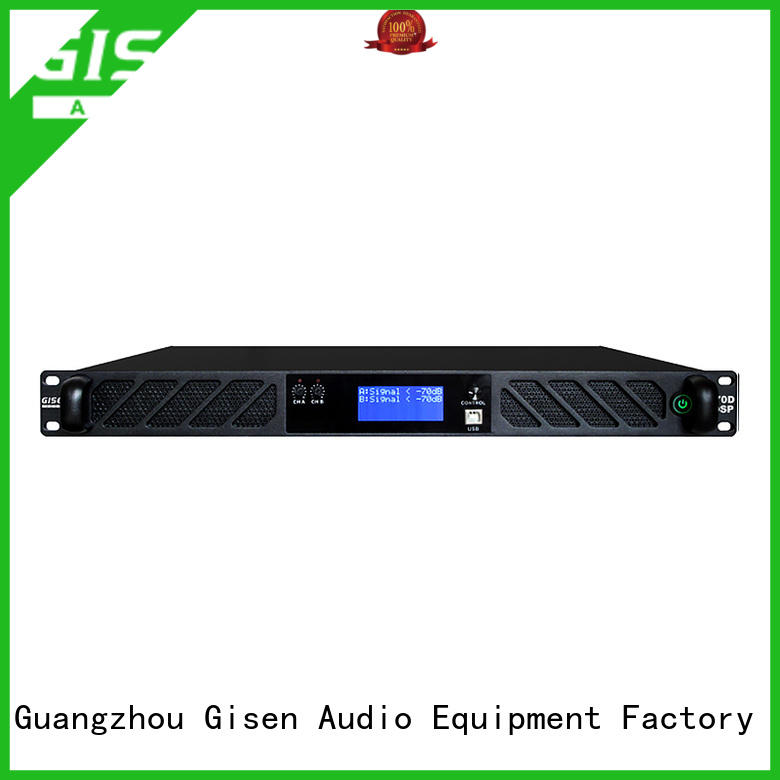 Gisen professional direct digital amplifier wholesale for venue