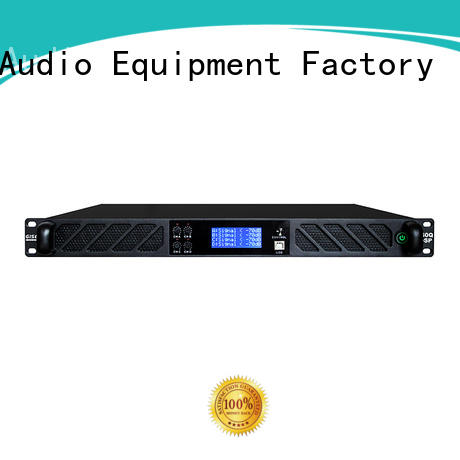 Gisen 2 channel professional digital amplifier wholesale for stage