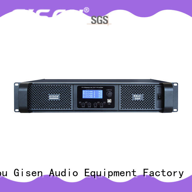 Gisen high quality audio amplifier pro manufacturer for various occations