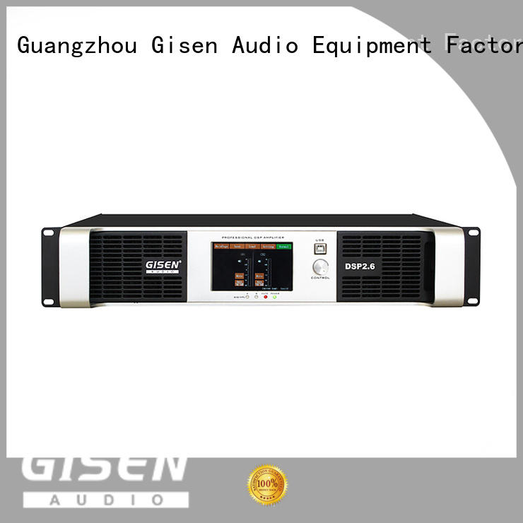 Gisen high quality homemade audio amplifier factory for performance