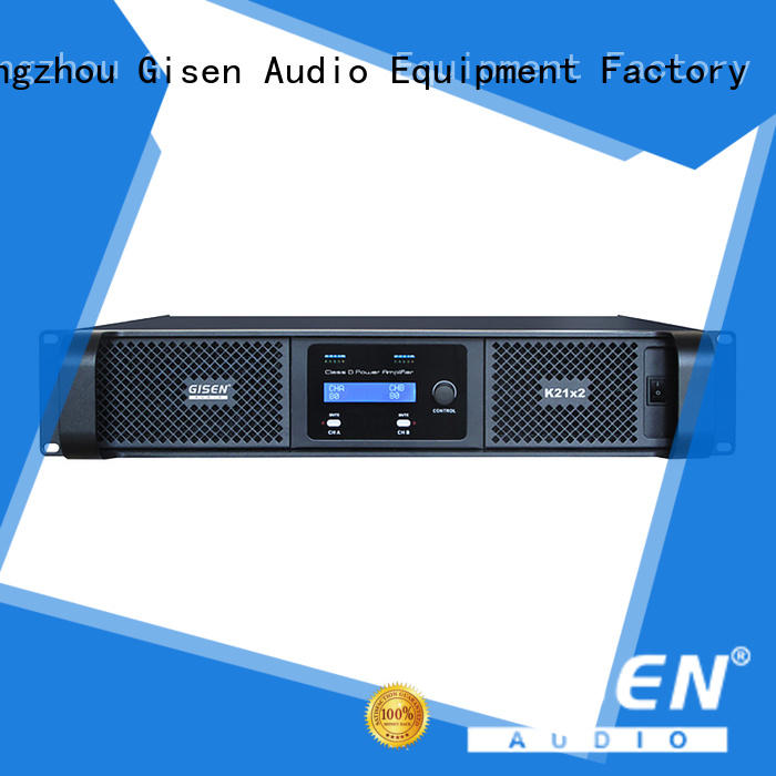 professional hifi class d amplifier wholesale for stadium Gisen