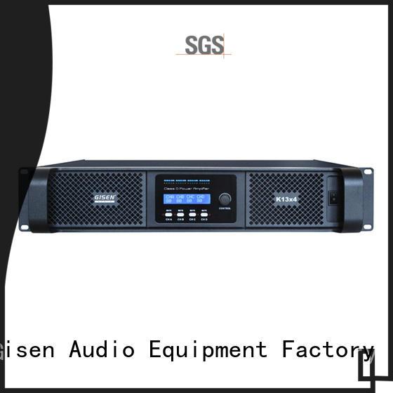 Gisen full range digital audio amplifier manufacturer for entertaining club