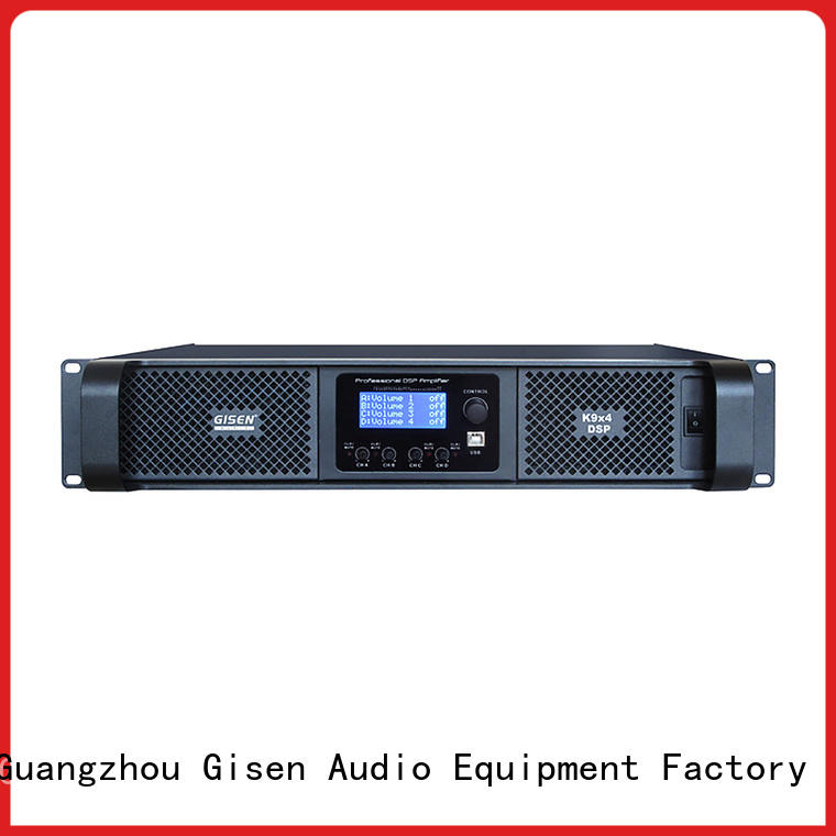 Gisen multiple functions amplifier power manufacturer