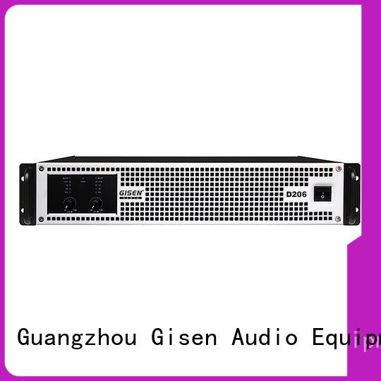 Gisen full range sound digital amplifier manufacturer for performance