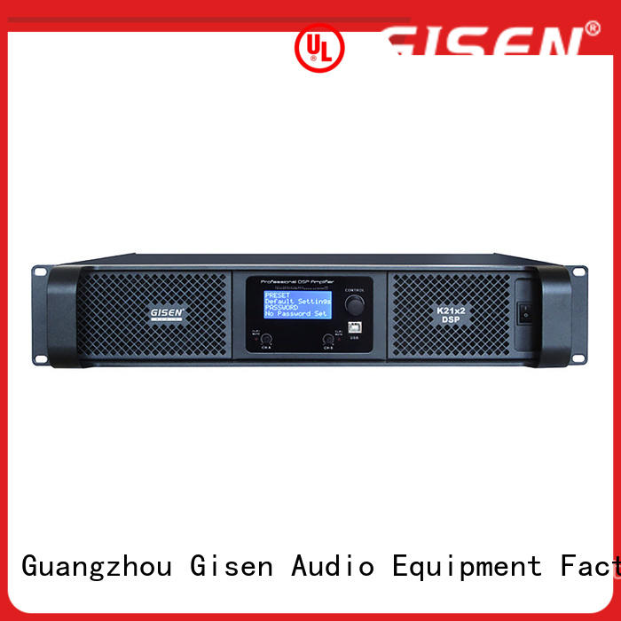 high quality dsp power amplifier 2100wx2 manufacturer for stage