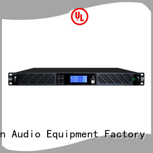 Gisen high quality 1u amplifier wholesale for stage