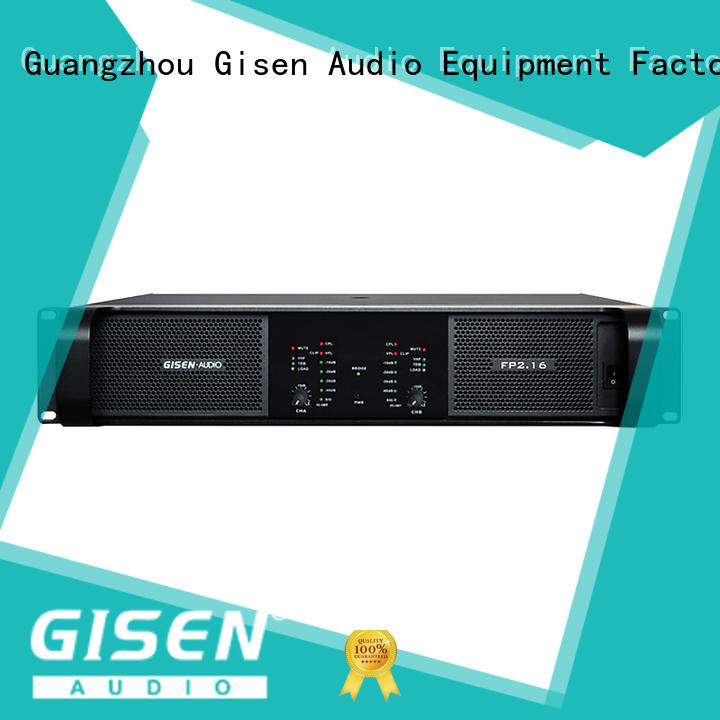 Gisen unbeatable price hifi amplifier one-stop service supplier for performance