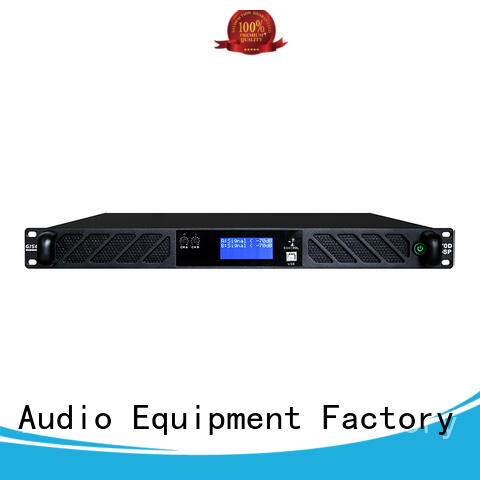 Gisen high quality dj power amplifier supplier for performance