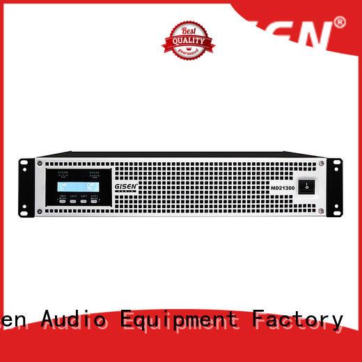 Gisen power toroidal transformer amplifier sale price for stadium